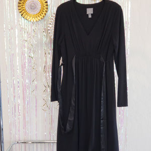 Little Black Dress, Long Sleeve, Size 12